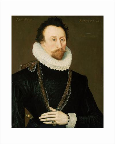 Sir John Hawkins (1532-1595) by unknown