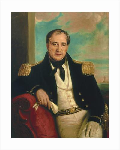 Captain John Croft Hawkins (1798-1851) by British School