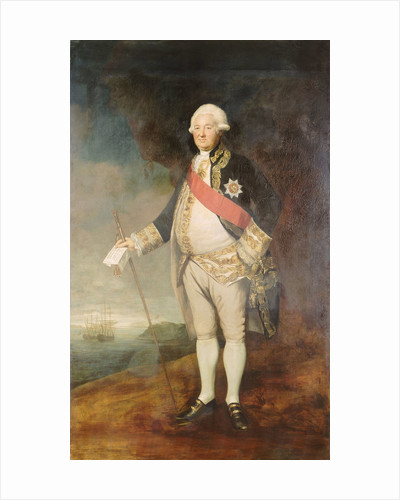 Admiral Sir Edward Hughes (circa 1720-1794) by Joshua Reynolds