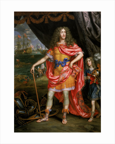 James, Duke of York (1633-1701) by Henri Gascar