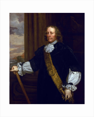Flagmen of Lowestoft: Vice-Admiral Sir Joseph Jordan (1603-1685) by Peter Lely