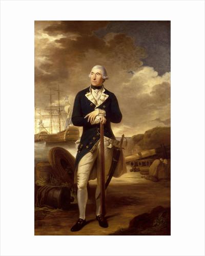 Rear-Admiral Richard Kempenfelt (1718-1782) by Tilly Kettle