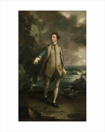 Captain The Honourable Augustus Keppel (1725-1786) by Joshua Reynolds