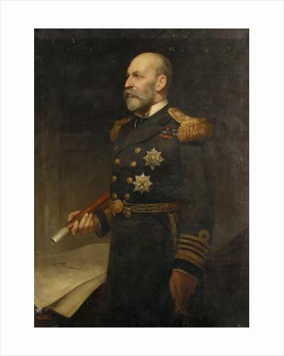 Admiral Sir Arthur William Moore (1847-1934) by Edmund Lawrence van Someren