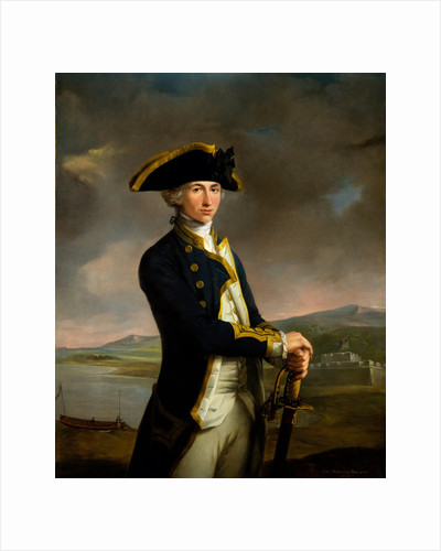Captain Horatio Nelson (1758-1805) by John Francis Rigaud