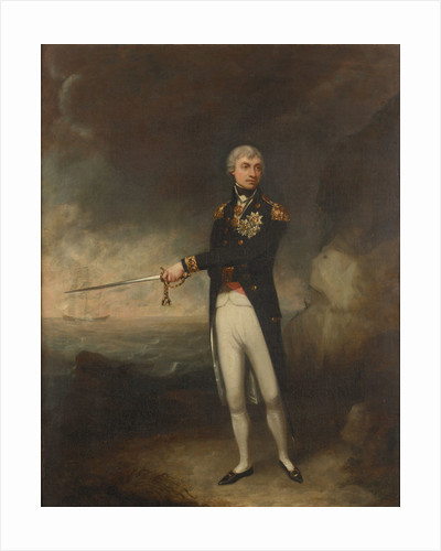 Vice-Admiral Horatio Nelson, 1st Viscount Nelson (1758-1805) by John Rising