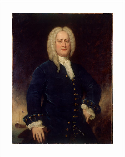 Admiral Sir Chaloner Ogle (1681?-1750) by British School