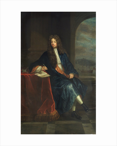 Robert Osbaldeston, (d.1715) by Charles D'Agar