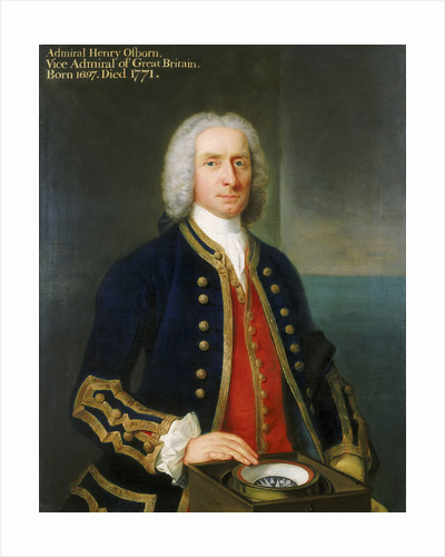 Captain Henry Osborn (1697-1771) by Claude Arnulphy