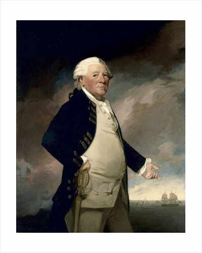 Vice-Admiral Sir Hyde Parker (1714-1782) by George Romney