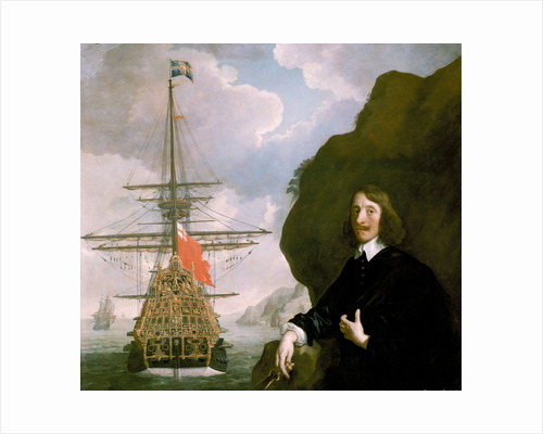 Peter Pett and the 'Sovereign of the Seas' (1637) by Peter Lely