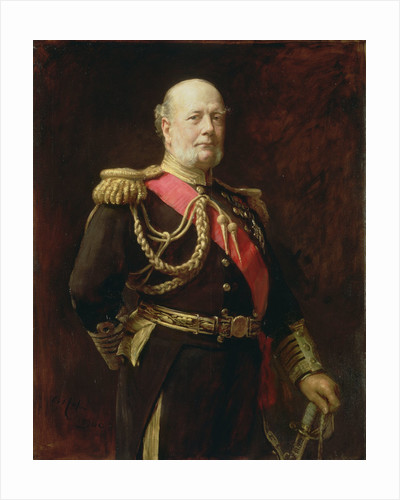Admiral Sir Frederick Richards (1833-1912) by Arthur Stockdale Cope