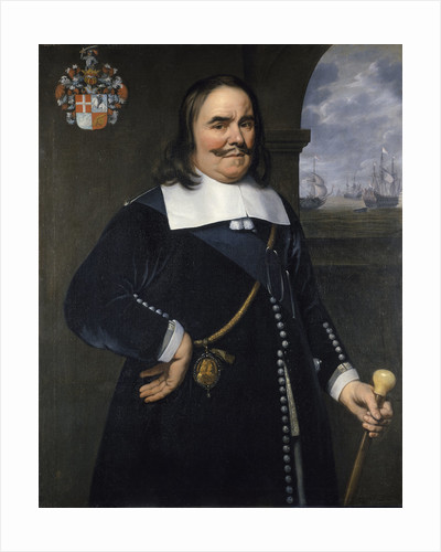 Michiel Adriaenszoon de Ruyter, Lieutenant-Admiral-General of the United Provinces (1607-1676) by Hendrick Berckman