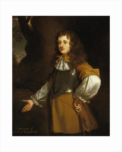 Edward Montagu, 1st Earl of Sandwich (1625-1672) by Peter Lely