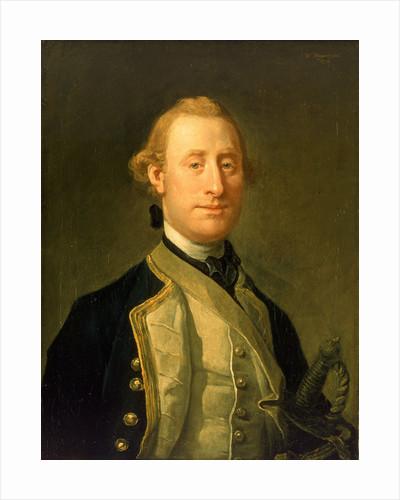 Captain Sir Alexander Schomberg (1720-1804) by William Hogarth