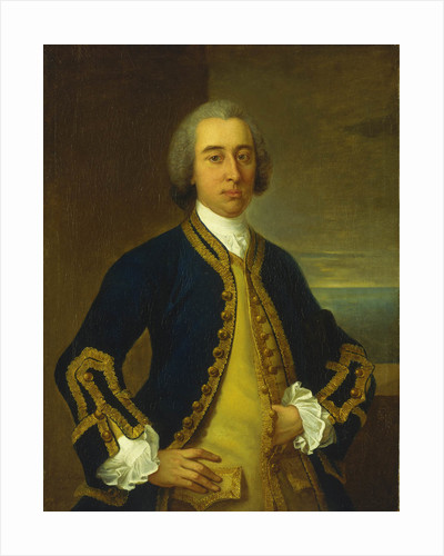 Captain Arthur Scott (1718-1756) by Claude Arnulphy