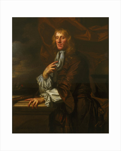 Flagmen of Lowestoft: Sir Jeremiah Smith (d. 1675) by Peter Lely