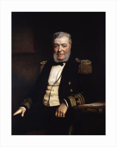 Admiral John Lort Stokes (1812-1885) by Stephen Pearce