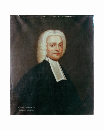 Reverend Maurice Suckling, grandfather of Lord Nelson by British School