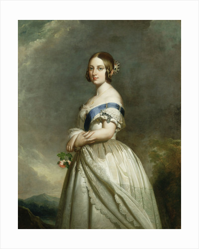 Queen Victoria (1891-1901) by Franz Xaver Winterhalter