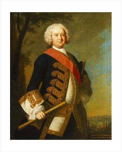 Admiral Sir Peter Warren (1703-1752) by Thomas Hudson