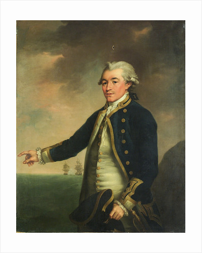 Portrait of Captain Peacock by John Francis Rigaud