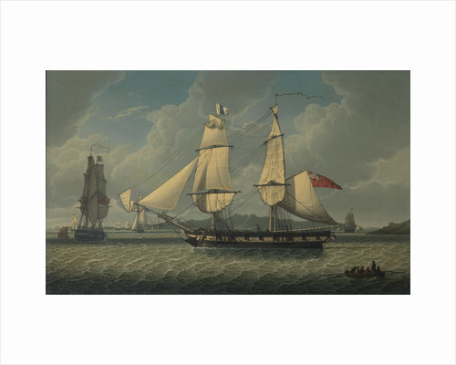 The brig 'Ariel' by Robert Salmon