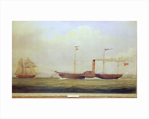 The paddle steamer 'Commodore' by William Clark