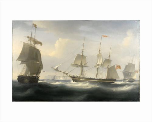 The ship 'Delaford' by William John Huggins