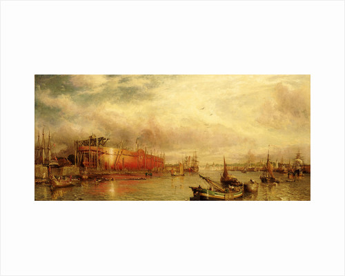 Building the 'Great Leviathan' by William Parrott