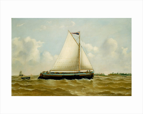 The Humber sloop 'Harry' by Reuben Chappell