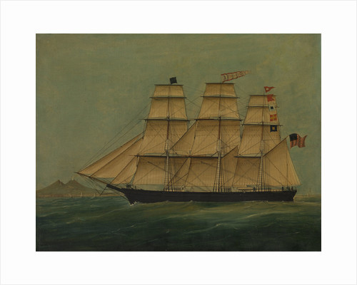 The ship J. P. Witney by American School
