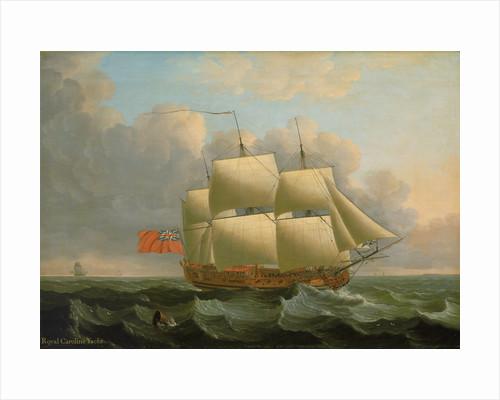 The 'Royal Caroline' by John Cleveley