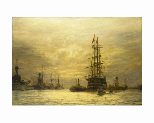 The last voyage of 'HMS Victory', 1922 by William Lionel Wyllie