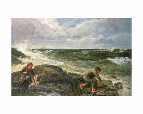 Catching a mermaid by James Clark Hook