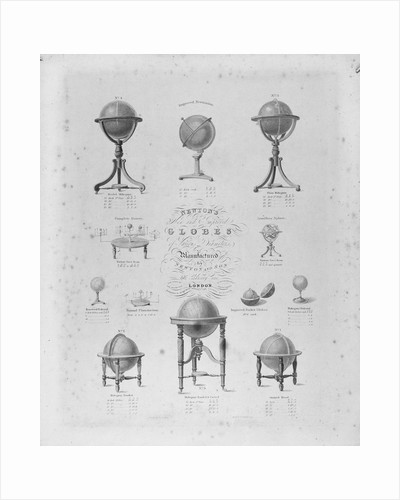 Advertisement by Newton & Son, London, (1841-1883) by unknown
