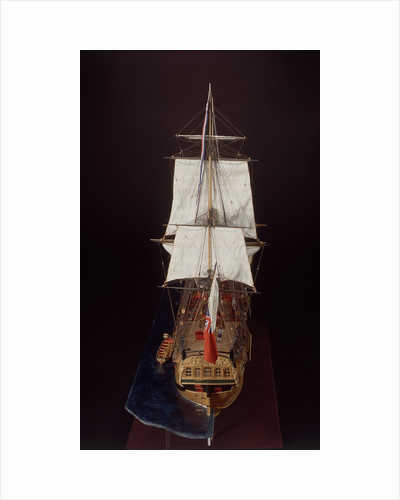 'Endeavour', full stern by Robert A. Lightley