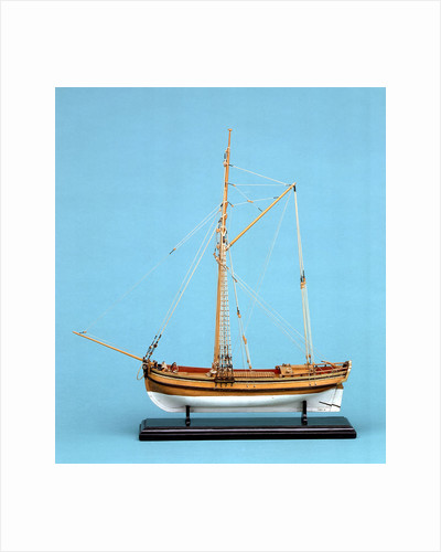 A passenger or cargo vessel 'Hoy' (1730) by unknown
