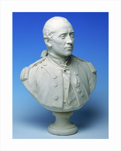 Captain John Paul Jones USN (1747-92) by Jean Antoine Houdon