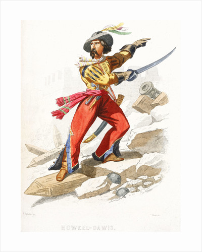 The Welsh pirate Howell Davis by A. Catel