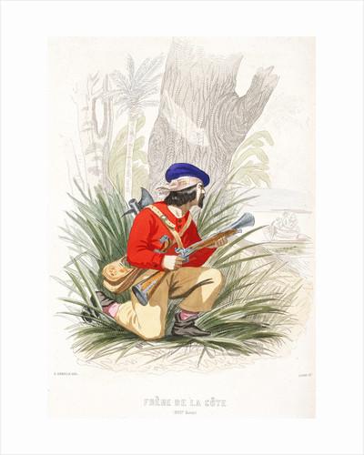 A pirate prepares for ambush by A. Catel