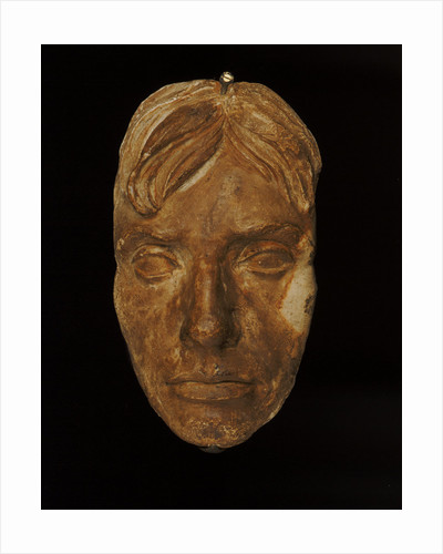 Plaster cast of Nelson's face made in 1800 (Life mask) by unknown