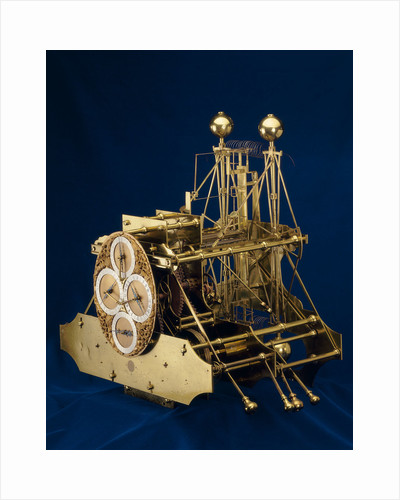 Three-quarter view of Harrison's marine timekeeper H1 by John Harrison