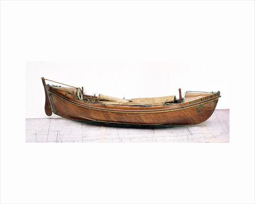 'Mariners Friend', starboard broadside by H. J. Pope