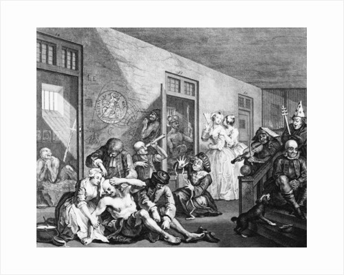 Longitude Lunatics' from 'The Rake's Progress by William Hogarth