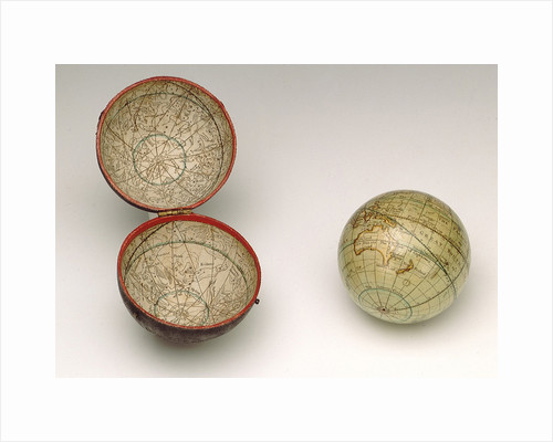 Sphere and case by Dudley Adams