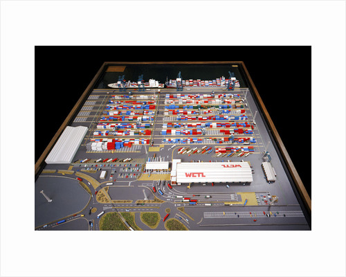 Model of the Walton Container Terminal IN COPYRIGHT? by Minima Industrial Modelmaking