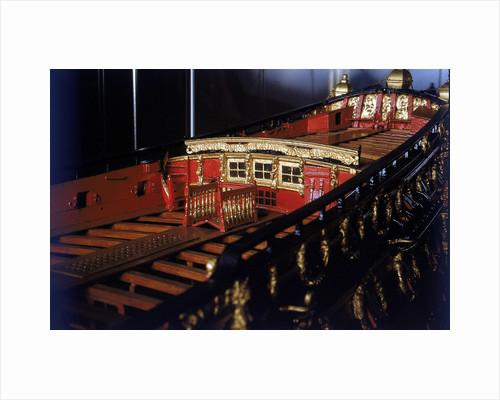 'Boyne', deck detail by unknown