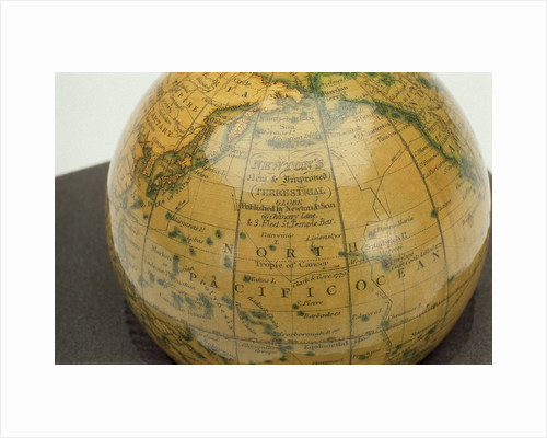 Inscription in North Pacific Ocean by Newton & Co.