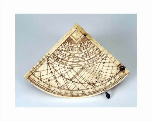 Obverse of Gunter quadrant by Ann Shepard